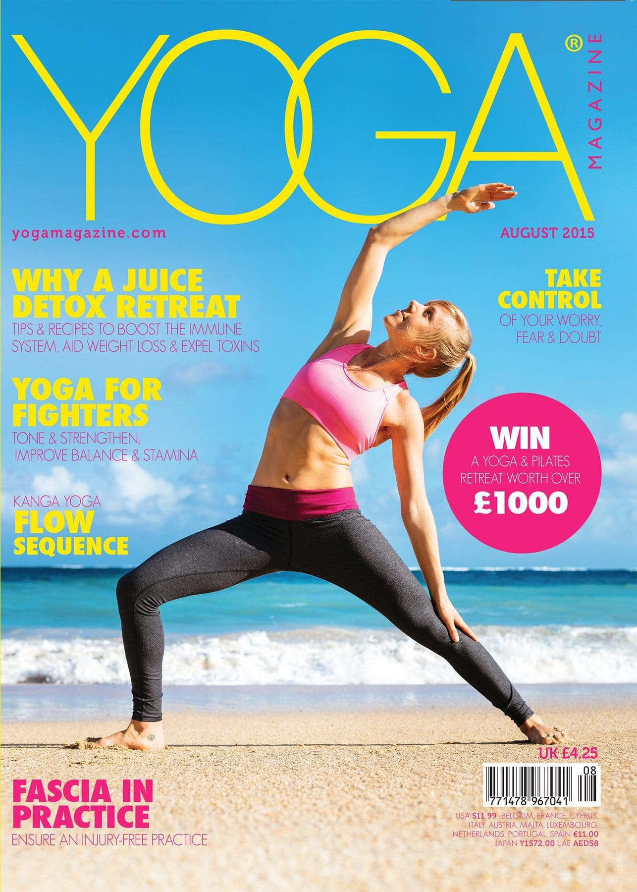 Why a Juice Detox Platinum Healing in Yoga Magazine
