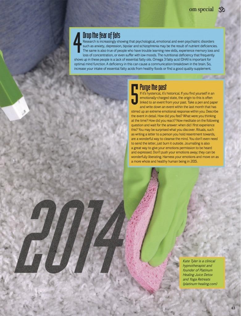 Platinum Healing Retreat in Om Yoga Magazine