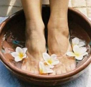 aromatherapy foot soak - Stock photo File # 137472
