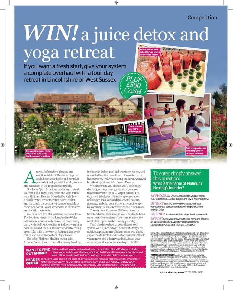 Juice Detox Retreat Article