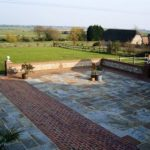 Rear Courtyard Sussex Retreat