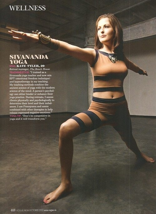 Kate Tyler in Vogue Magazine