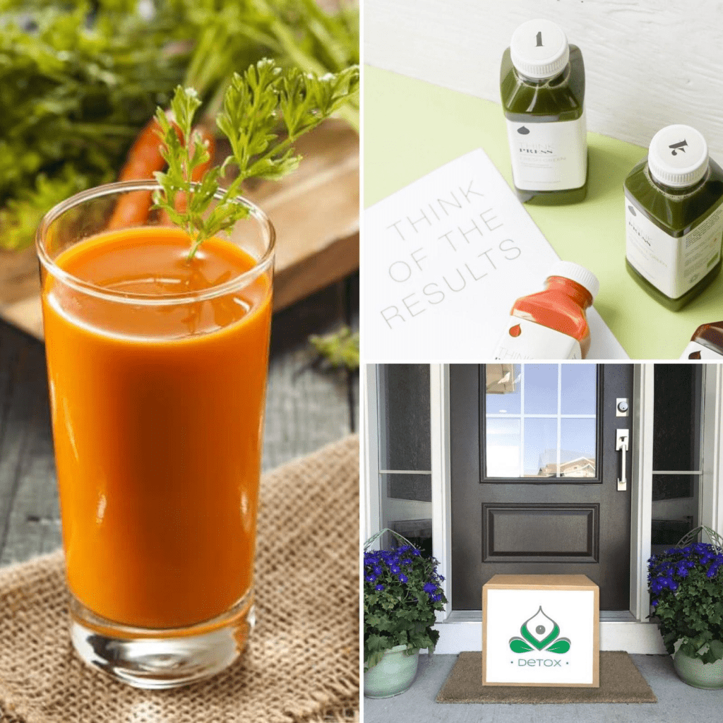 Home detox retreat with platinum healing