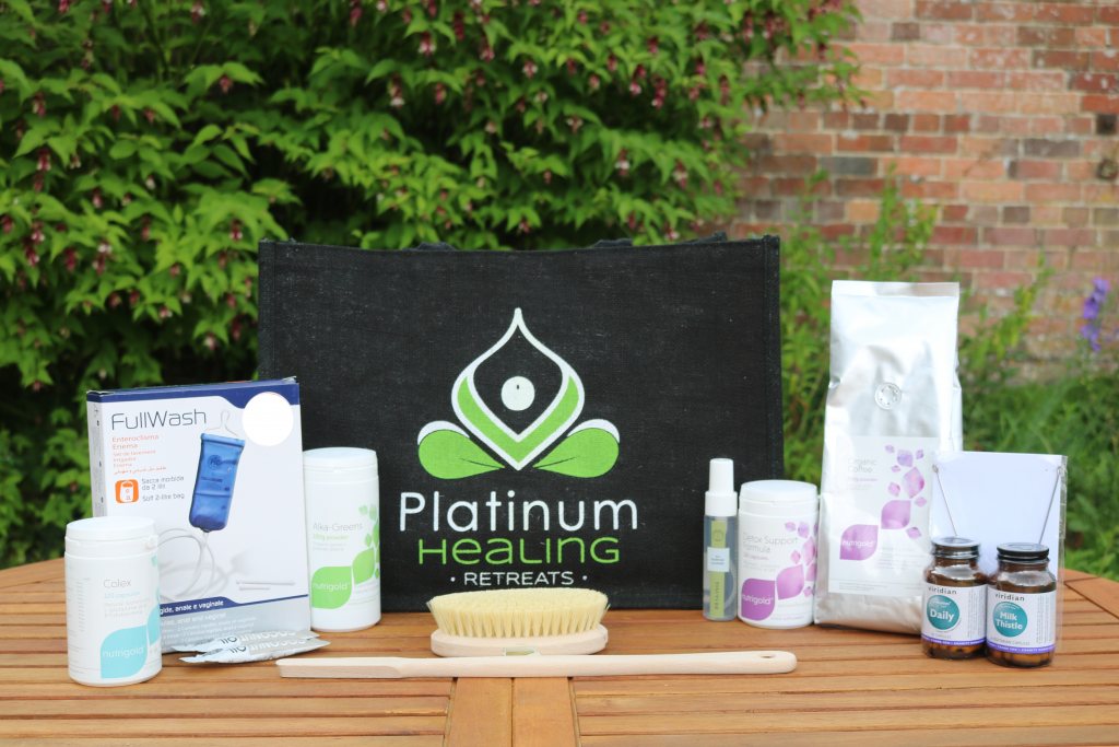 Home Detox with Platinum Healing