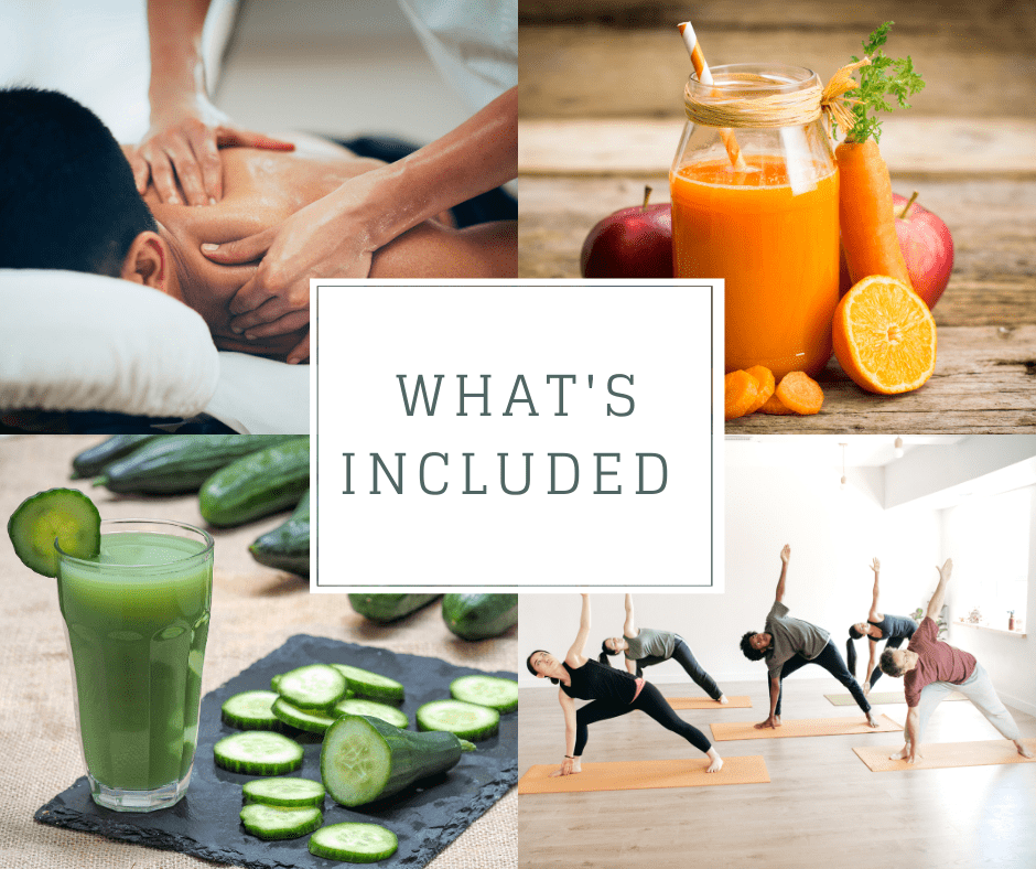 Juice Detox and Yoga Retreat
