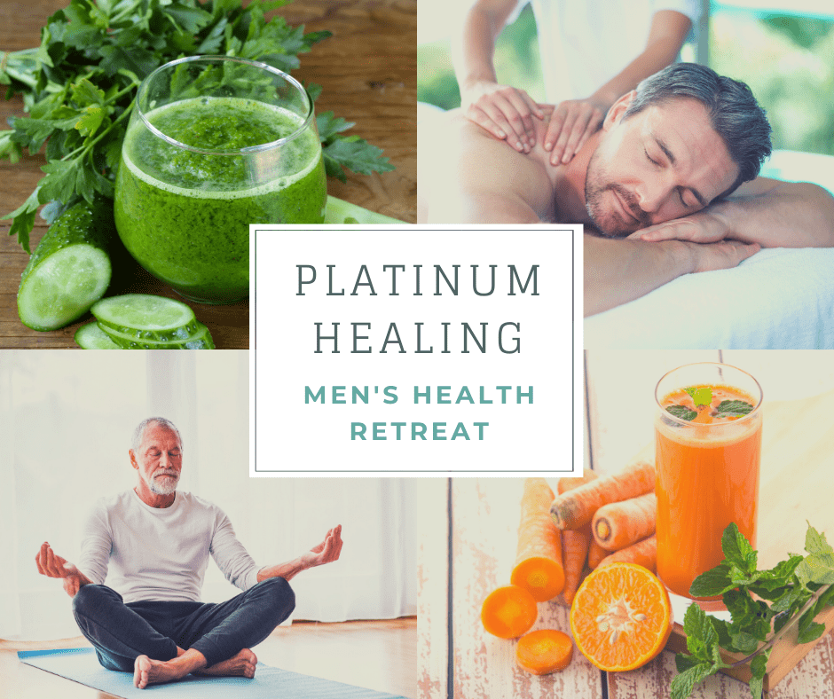 Mens Health Retreat Platinum Healing