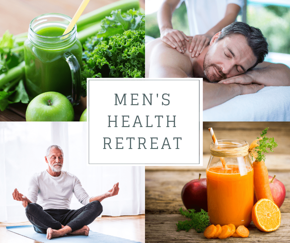 Mens Health Retreat England UK